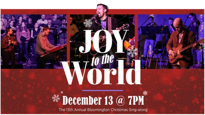 Joy to the World, Christmas Sing-along